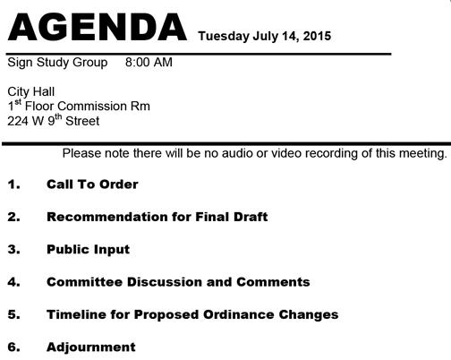 bill-agenda