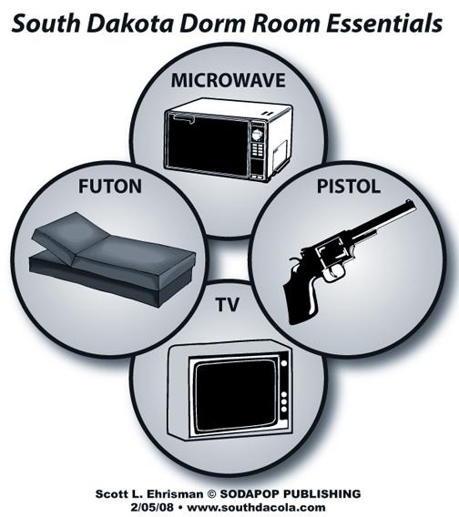 SouthDaCola-43-dorm-room-pistol